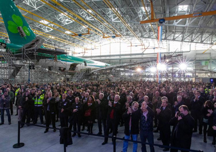 Sabena Technics inaugura un nuevo hangar de mantenimiento