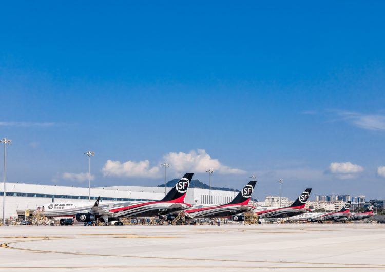 Firma china SF Airlines crea red global de transporte aéreo