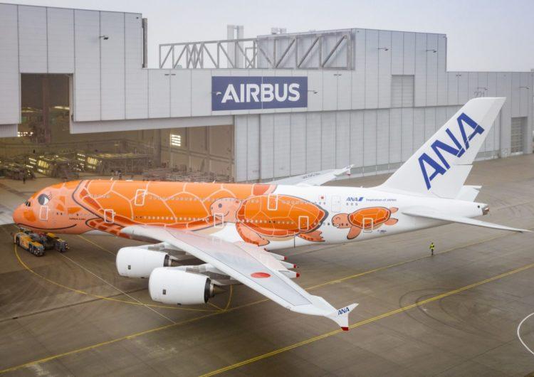 ANA recibe su tercer A380