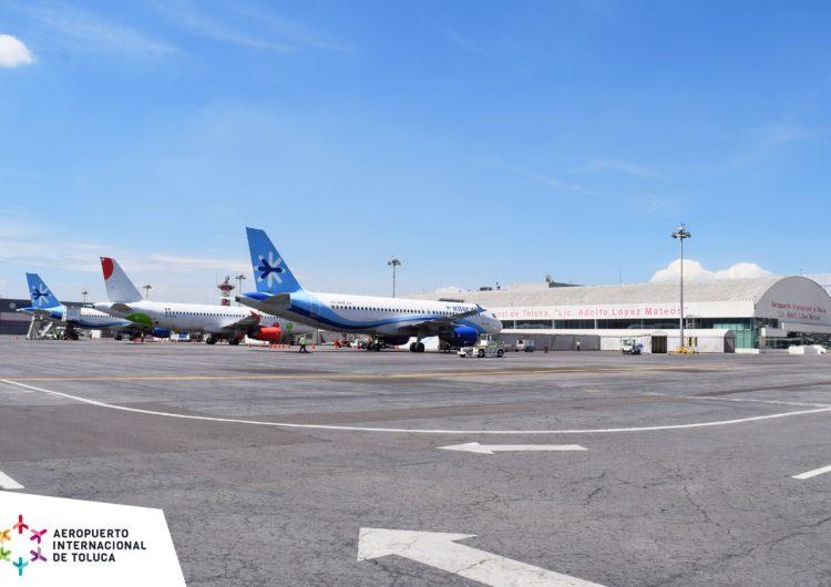 México: Por decreto, la SCT podría mandar vuelos a Toluca