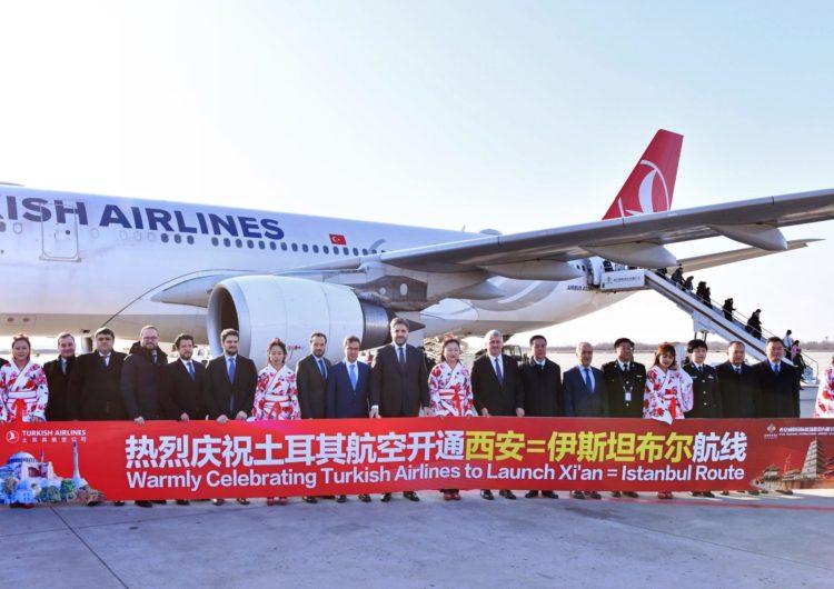 Comenzaron los vuelos de Turkish Airlines a Xi'an en China, el punto de partida de la histórica ruta de la seda