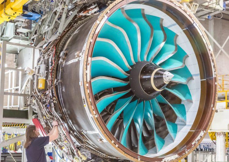 Ultrafan, el nuevo motor gigante de Rolls-Royce para aviones