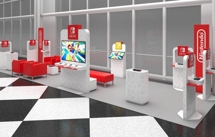 Nintendo está colocando consolas en algunos aeropuertos de EEUU para que las esperas se hagan más cortas