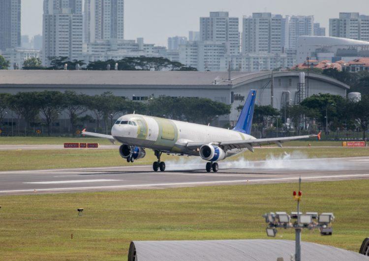 Primer vuelo del A321 convertido en carguero