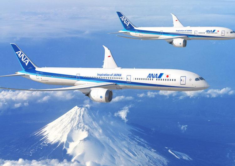 La japonesa ANA adquiere 20 aviones B787 Dreamliner