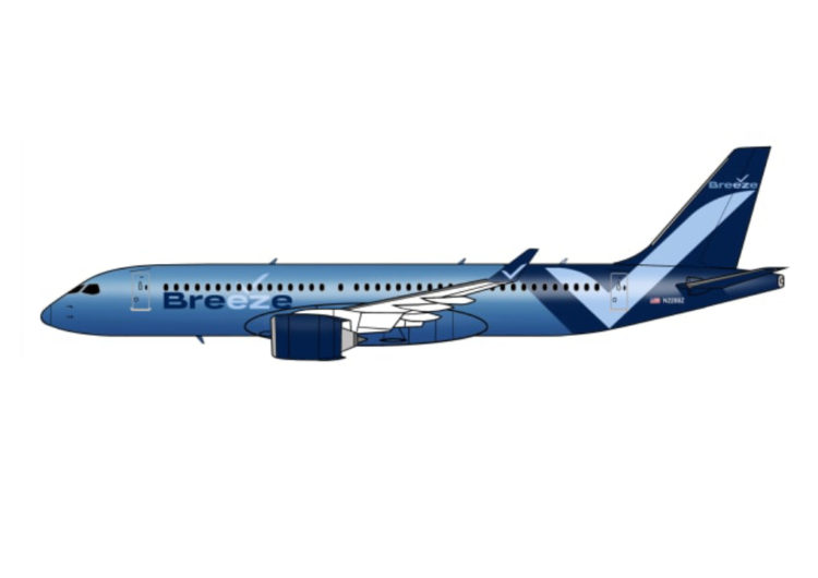 La nueva aerolínea Breeze aplaza su estreno a 2021