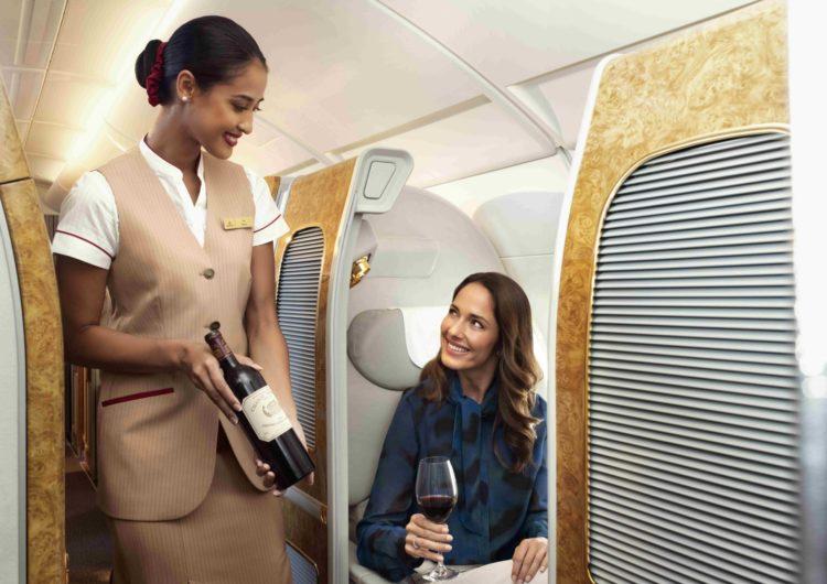 Emirates gana medallas en reconocimiento de los vinos que sirve abordo