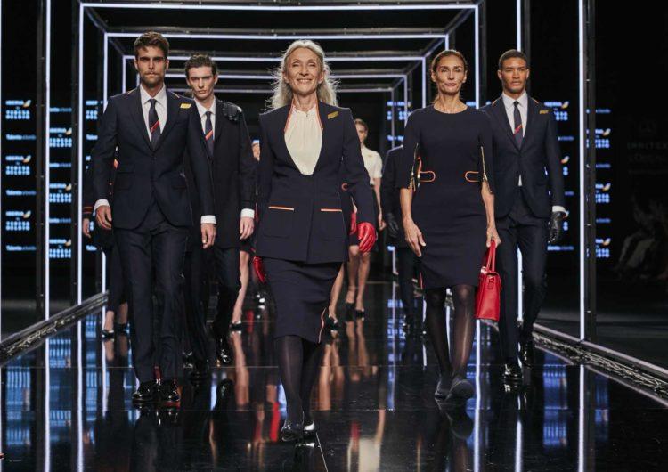 Iberia presentó los nuevos uniformes diseñados por Teresa Helbig en MBFWM