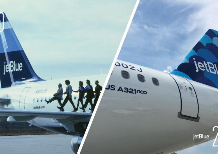 JetBlue celebró 20 años de operaciones