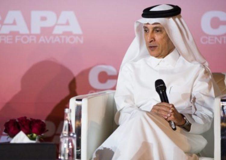 CEO de Qatar Airways muestra interés en elevar al 20% participación en aerolínea LATAM