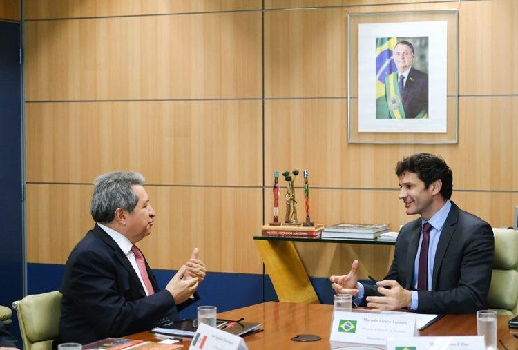 Brasil y México avanzan en un plan de cooperación turística