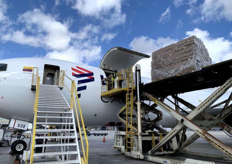 LATAM Cargo aumentó su operación un 45% durante San Valentín 2020 al volar 12.600 toneladas de flores
