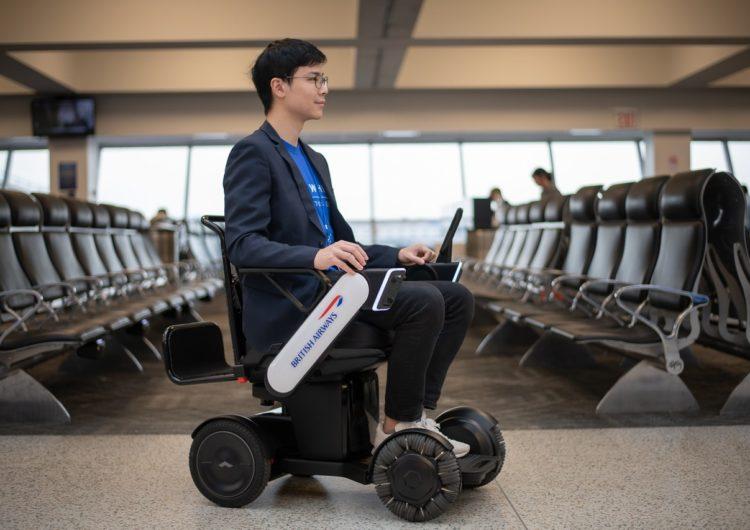 British Airways prueba vehículos autónomos para clientes con movilidad reducida en el aeropuerto JFK