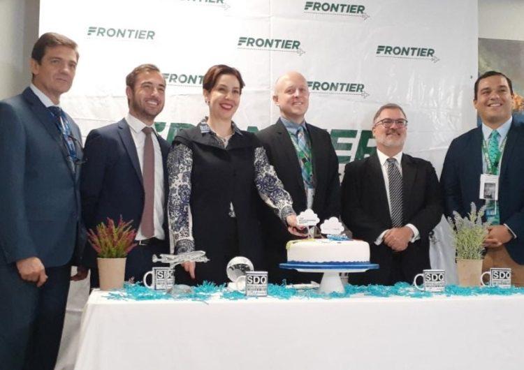 Aerolínea Frontier Airlines inaugura ruta desde el AILA hasta Nueva York
