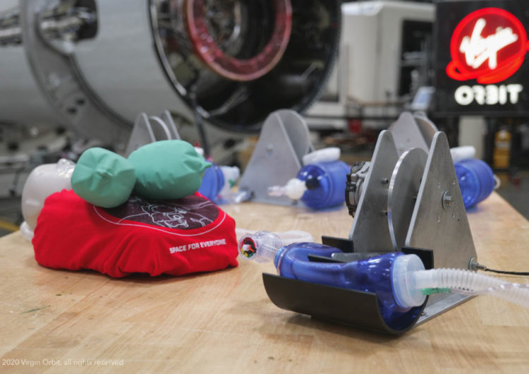 Virgin Orbit desarrolla respiradores para luchar contra el coronavirus
