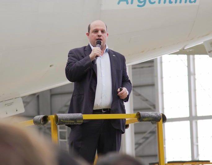 """""""Debemos ser un modelo de gestión de empresa pública"""", dijo el titular de Aerolíneas Argentinas"""
