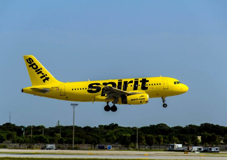 Spirit Airlines anuncia expansión internacional desde Nueva Orleans, ofreciendo vuelo directo a Honduras