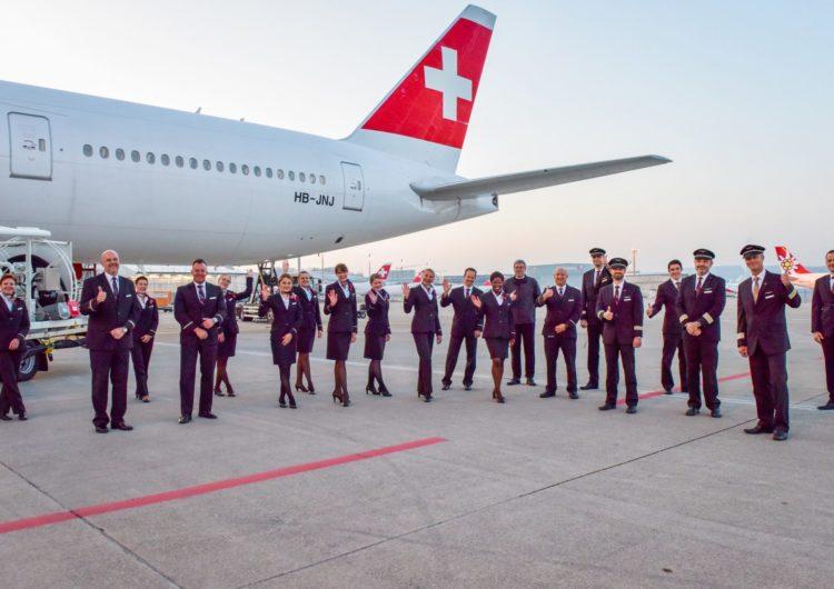 Swiss Air Realiza el Vuelo Más Largo de su Historia