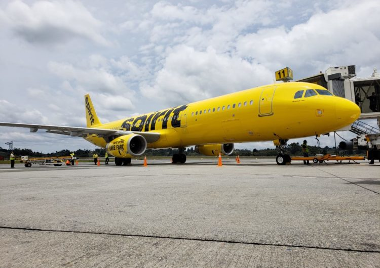 Spirit Airlines plans to be at 80% capacity in July