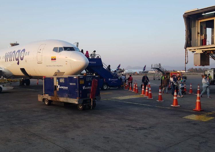 Copa Airlines y Wingo operan vuelos humanitarios para llevar a ciudadanos chilenos y brasileños  de regreso a sus países