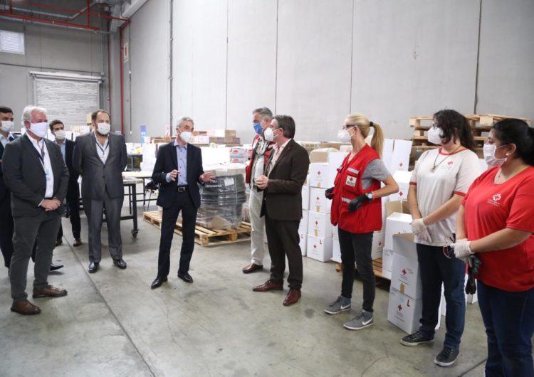 La Cruz Roja contará con un espacio propio dentro de la Terminal de Cargas Argentina en Ezeiza