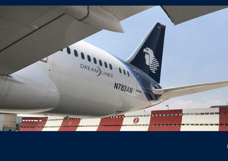 Lanza Aeroméxico 3 vuelos simultáneos de carga a China