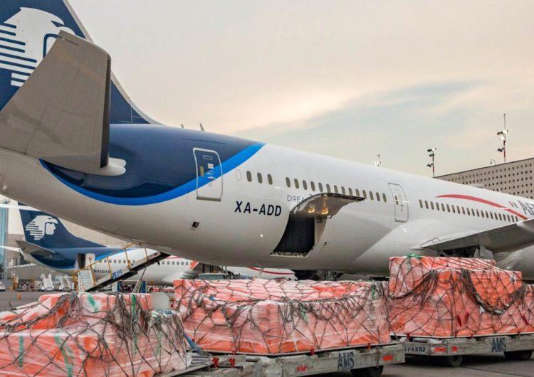 Aeroméxico ya realizó 200 vuelos especiales de carga