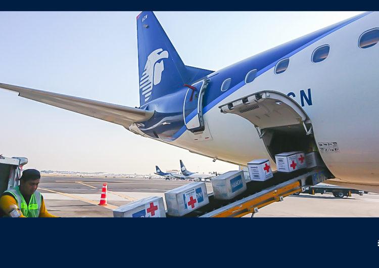 Grupo Aeroméxico y Cruz Roja forman alianza contra el coronavirus en México