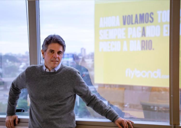 Flybondi informó el fallecimiento de su CEO, Sebastián Pereira