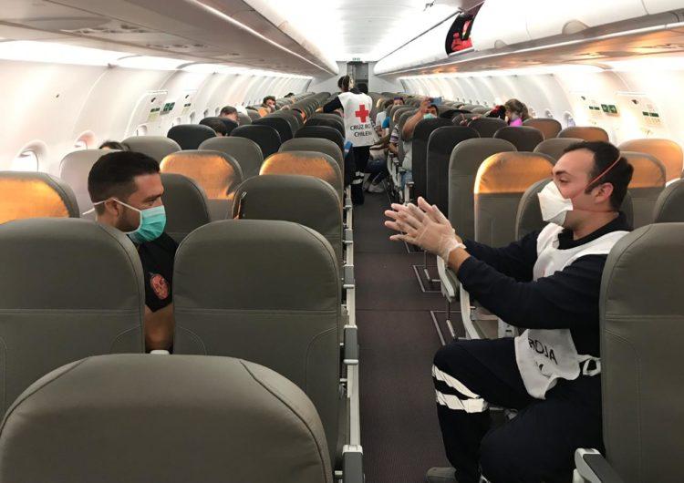 Cruz Roja inicia charlas en vuelos de JetSMART sobre acciones frente a Covid-19