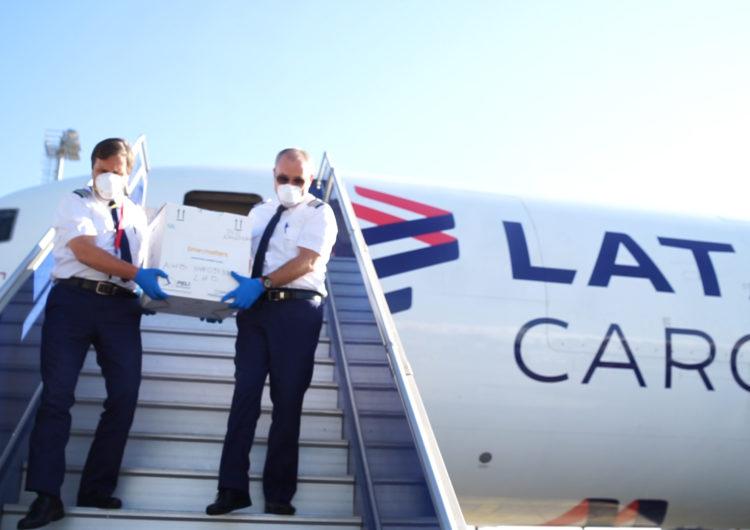 Por primera vez, LATAM Cargo transporta células madre para menor con leucemia