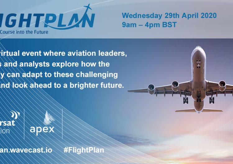 Inmarsat y APEX unen fuerzas para conectar a la industria de aviación durante la crisis global con un evento de transmisión en línea