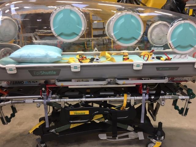 Una aerolínea escocesa transforma sus aviones en ambulancias para pacientes