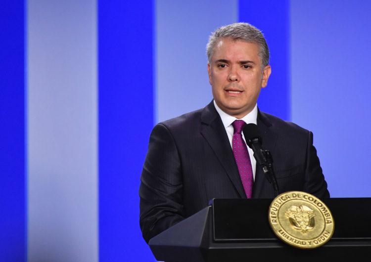 Colombia: Presidente Duque aseguró que no se van a restablecer vuelos internacionales en el corto plazo