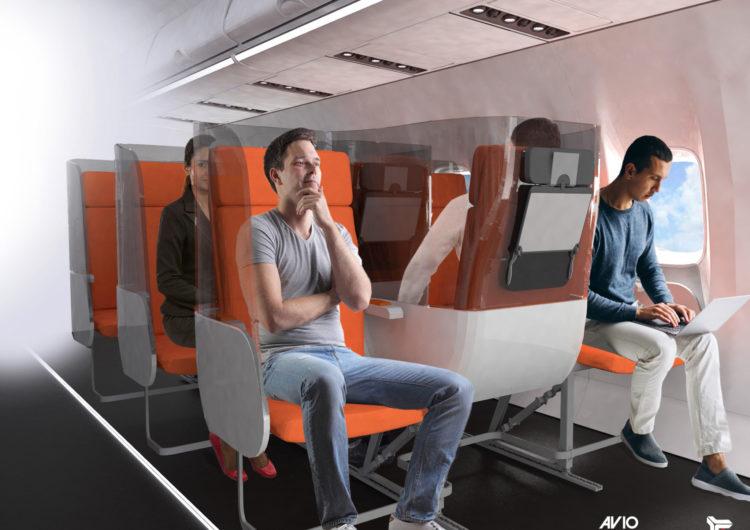 Presentan nuevos prototipos de asientos ante COVID-19