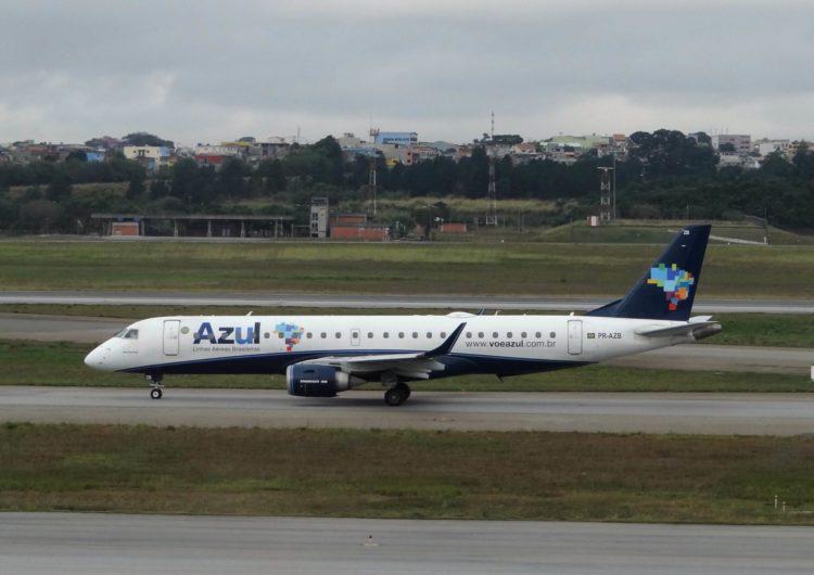 Azul retoma voos em cidade de MT