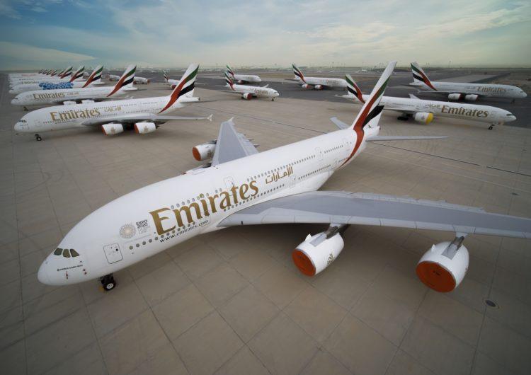 La aerolínea Emirates recibe una inyección de 2.000 millones de dólares de Dubai por el Covid-19