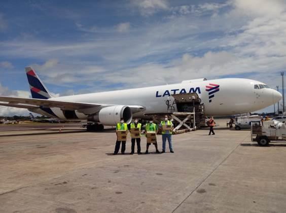 LATAM Cargo auxilia 3M no transporte de 150 mil máscaras para hospitais públicos de Manaus