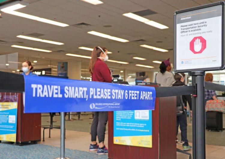Aeropuerto de Orlando se prepara para otra desaceleración debido al pico de coronavirus
