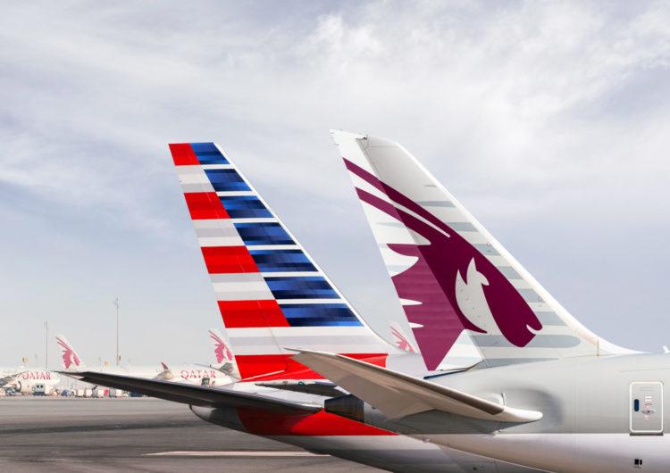 Qatar comienza la primera fase de su asociación estratégica con American Airlines