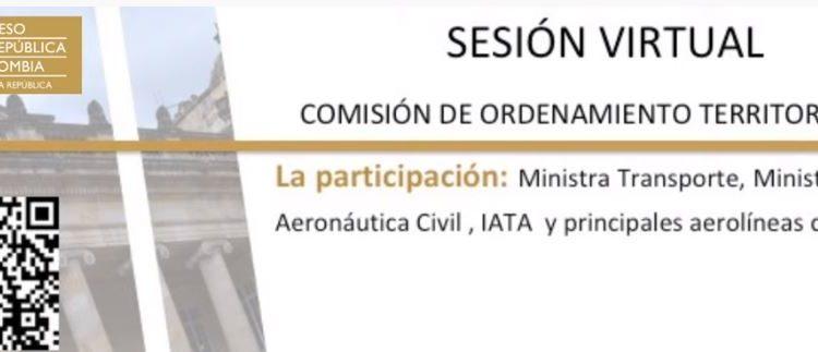 Hay unos 300 mil empleos del sector aéreo en riesgo en Colombia: IATA