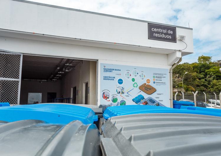 Salvador Bahia Airport é primeiro aeroporto do Brasil a reaproveitar 100% dos seus resíduos