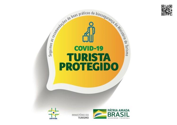 """Turista protegido"", el nuevo sello brasileño de seguridad sanitaria"