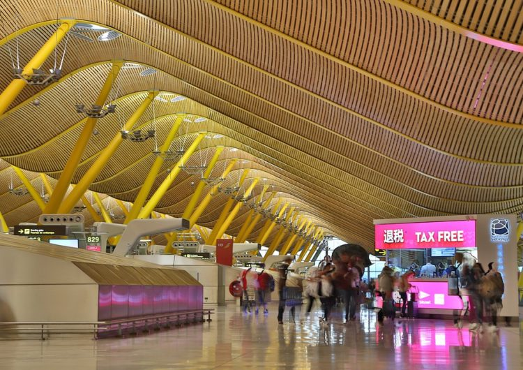 Los aeropuertos europeos sólo registraron 4,3 millones de pasajeros en mayo