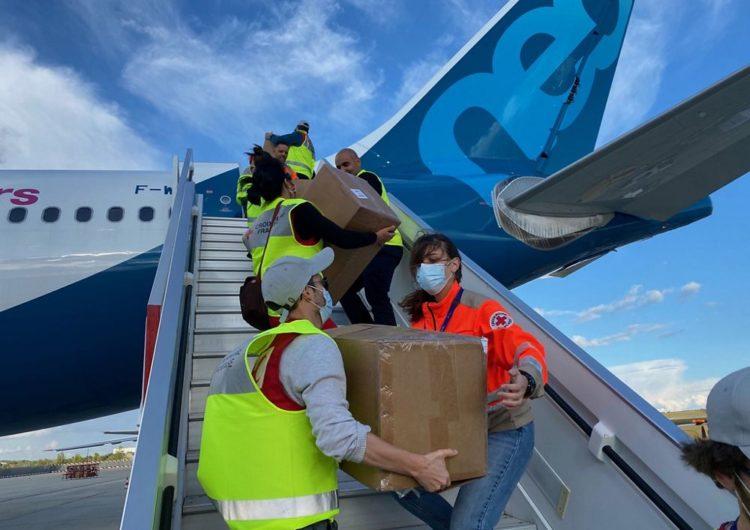 No todo es COVID: Airbus y la Cruz Roja Francesa asisten al Congo en un nuevo rebrote de Ebola