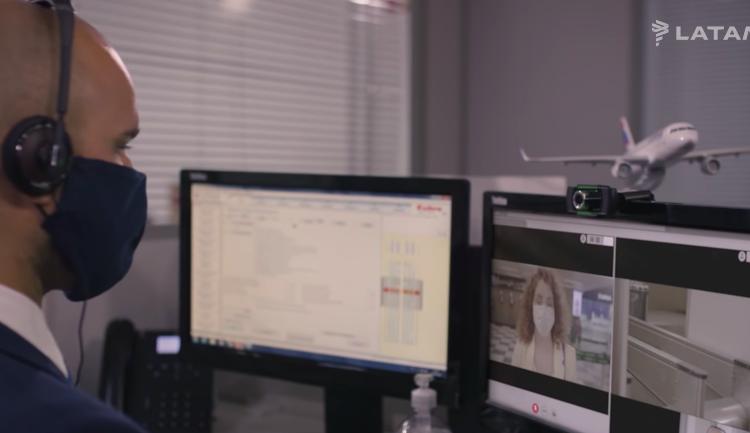 LATAM lança atendimento remoto no check-in focado em prevenção contra a COVID-19