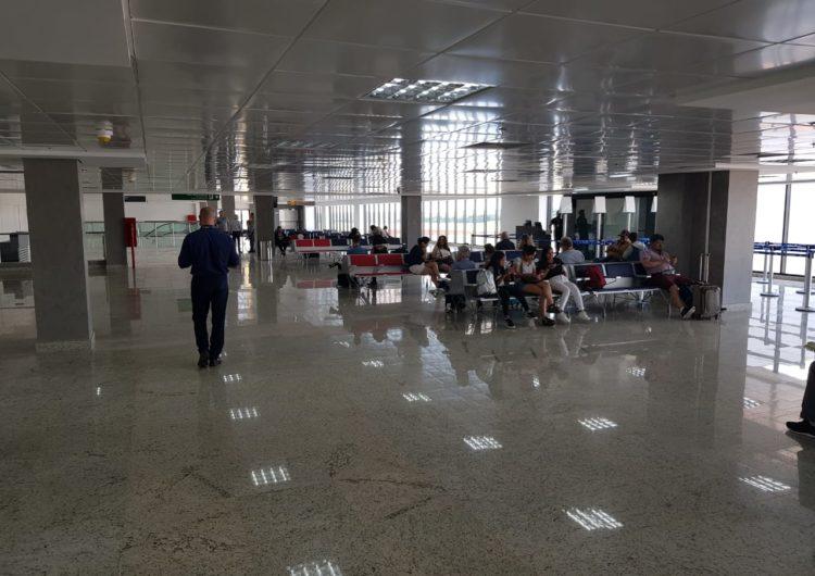 Governador do Paraná visita obras do Aeroporto de Foz do Iguaçu