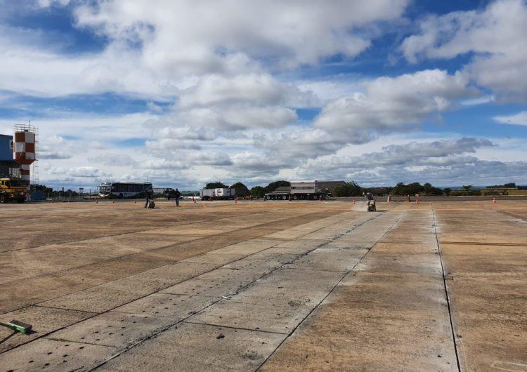 Infraero conclui obra no pátio do Aeroporto de Londrina