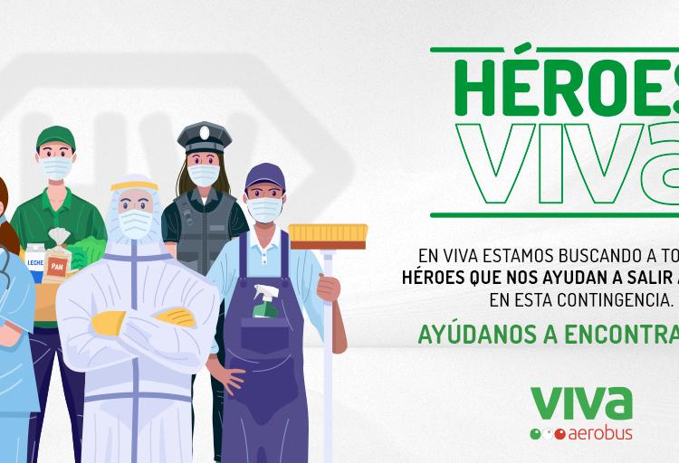 Premia Viva Aerobus la solidaridad con la iniciativa Héroes Viva: vacaciones gratis para personas que destaquen por su labor ante la pandemia