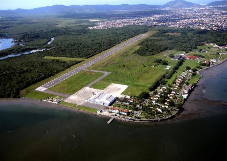 Aeroporto de Guarujá será gerido pela Infraero